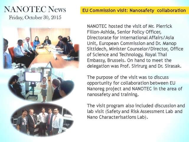 EU Commission visit