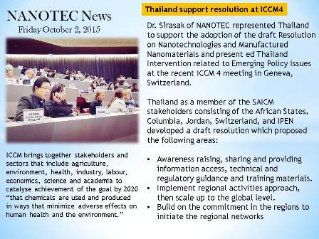 Thailand support resolution at ICCM4(2)