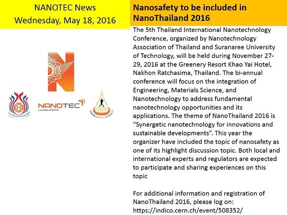 NanoThailand 2016